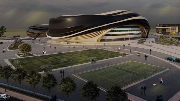 بالصور.. مخططات المدينة الرياضية التي ستقام في غزة