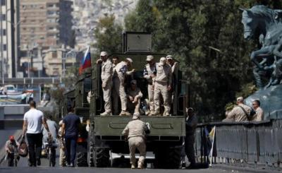روسيا تنشر قوات برية لدعم جيش النظام بإدلب