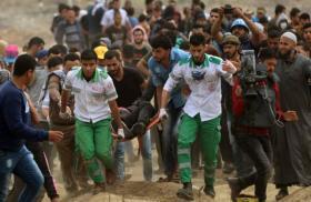 الصحة: 56 إصابة برصاص الاحتلال شرقي قطاع غزة
