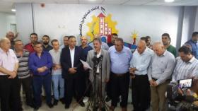 قرار بمقاطعة المشاركة في العطاءات للمشاريع الجديدة المطروحة من كافة المؤسسات في محافظات غزة