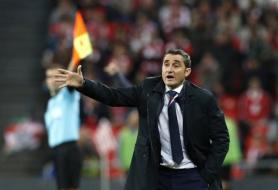 مدرب برشلونة يشيد بغريزمان بعد الفوز