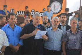تقرير عبري: قيادة حماس تدرس توقيف مسيرات العودة