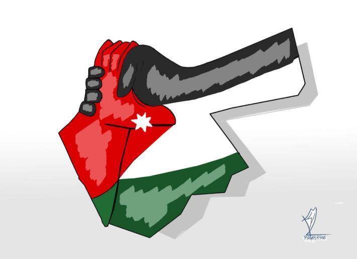7425 - احتفاء بمواقف المملكة الأردنية تجاه قضيتنا