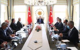 تفاصيل اجتماع وفد حركة حماس برئاسة هنية مع أردوغان