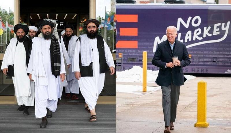 طالبان تتوقع من بايدن احترام اتفاق سحب القوات الأجنبية من أفغانستان