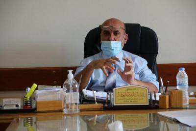 العقاد: مستشفى غزة الأوروبي ممتلئ تماماً بمصابي كورونا والحالات الخطيرة 13 حالة