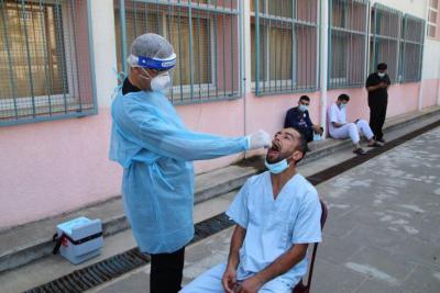"""اللجان الطبية في قطاع غزة تعلن تسجيل (754) إصابة جديدة بـ """"كورونا"""""""