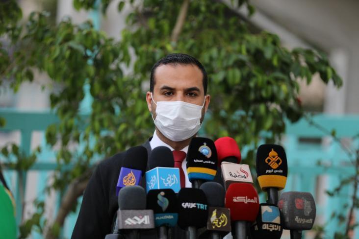 إياد البزم يوضح سبب تخفيف إجراءات إغلاق بعض المناطق في قطاع غزة