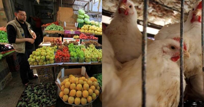 تعرف على القائمة محدثة لأسعار الخضروات والدجاج