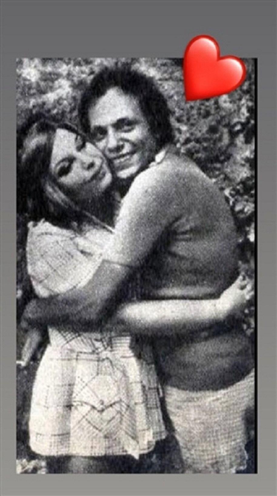 الزعيم عادل إمام وزوجته