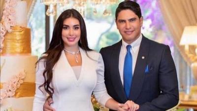 صورة.. ياسمين صبري وأحمد أبو هشيمة يثيران ضجة واسعة بما كتباه على واجهة قصرهما