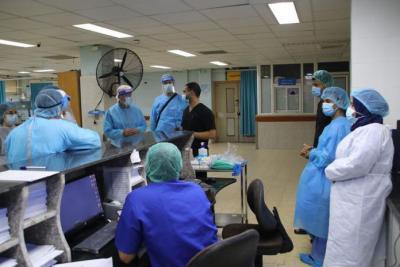 6 حالات وفاة و317 إصابة جديدة بـ (كورونا) في غزة