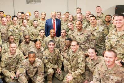"""ترامب يصدر أمرا عسكريا في أيامه الأخيرة بشأن """"إسرائيل"""""""