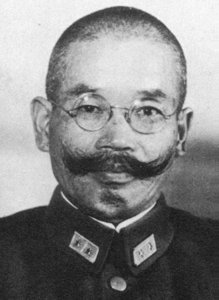 صورة للجنرال الياباني كوابي الذي قاد قوات بلاده ببورما