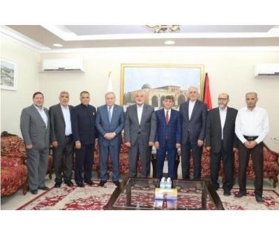 حماس تلتقي بعدد من السفراء وتضعهم في صورة تطورات القضية الفلسطينية