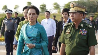 """ميانمار في قبضة الجيش.. والزعيمة قيد """"الاعتقال"""""""