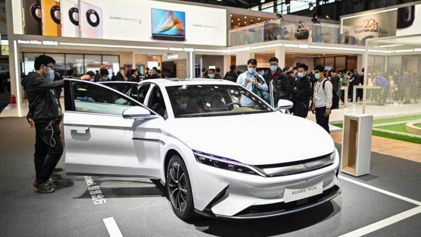هواوي تستعد لدخول سوق السيارات الكهربائية