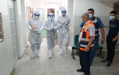 غزة.. 197 إصابة جديدة بفيروس (كورونا)