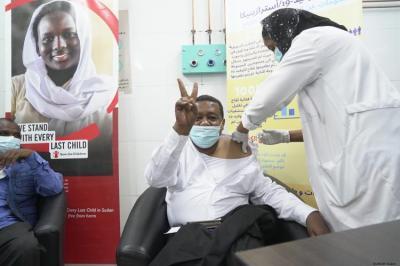 اليونيسف: انطلاق حملة التطعيم (كورونا) في السودان