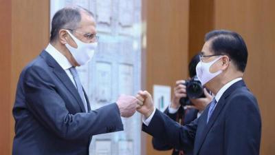 """لافروف يشيد بخطوة الإعداد لإنتاج لقاح """"سبوتنيك V"""" في كوريا الجنوبية"""