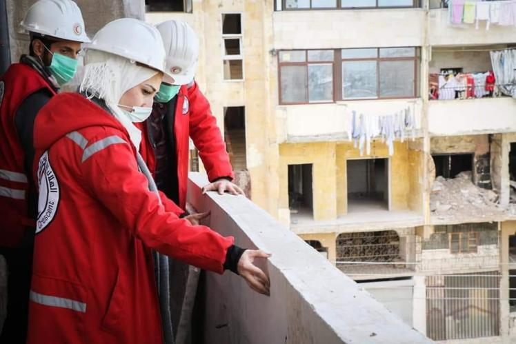 150 منزلاً في حلب يستقبلون سكانهم من جديد