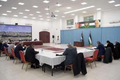 أكدت خوضها الانتخابات بقائمة موحدة.. تفاصيل اجتماع مركزية فتح برئاسة أبو مازن