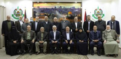 طالع الأسماء.. حركة حماس تُعلن أعضاء المكتب السياسي في قطاع غزة