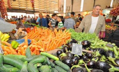 أسعار الخضار والفواكه في أسواق غزة اليوم الأحد