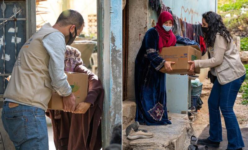 صور - استمرار تدفق المساهمات النقدية على حملة 100 مليون وجبة
