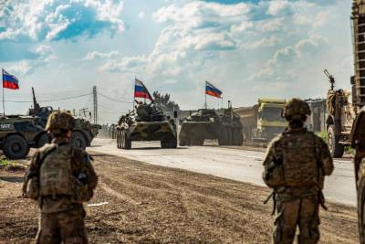 انتشار عسكري غير مسبوق للقوات الروسية على حدود أوكرانيا