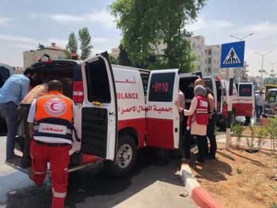 وفاة طفلة بعد صدمها من قبل جيب شرق مدينة غزة