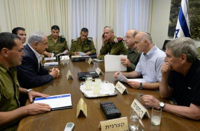 الكابينت الإسرائيلي يبحث خيارات المواجهة العسكرية مع إيران