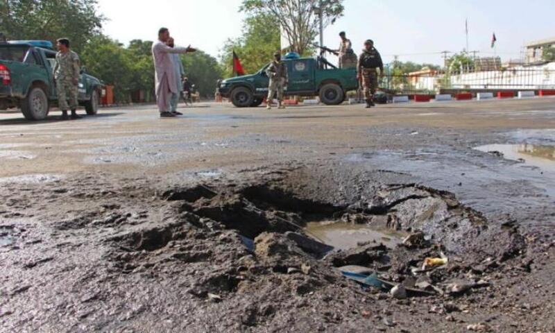 انفجار سيارة ملغومة في أفغانستان