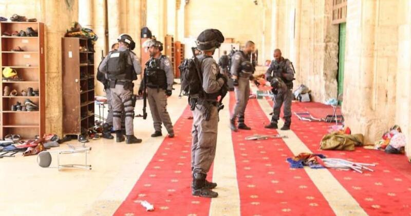 حركة حماس تعلق على إقدام إسرائيل بقطع أسلاك مكبرات الصوت بالمسجد الأقصى
