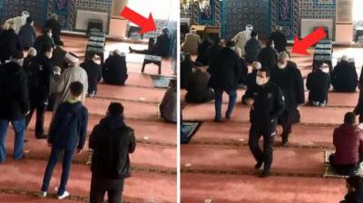 القبض على مصاب (كورونا) في جامع بإسطنبول
