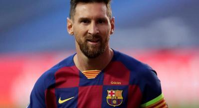ميسي يشكو من حكم مباراة برشلونة ضد بلد الوليد ويتهمه برغبته في إيقافه قبل الكلاسيكو ضد ريال مدريد.