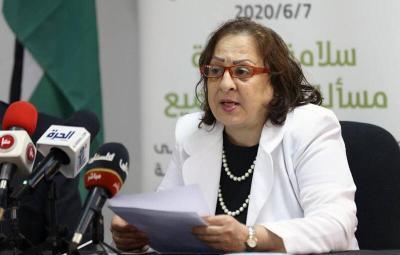 وزيرة الصحة برام الله تكشف أحدث حصيلة للإصابات والوفيات بكورونا