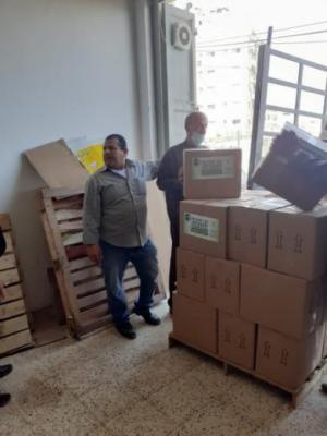 تنمية القدس وجمعية إغاثة المسلمين البلجيكية توزعان 1000 طرد غذائي