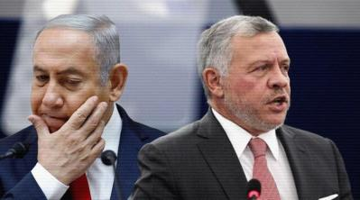 صحيفة عبرية: نتنياهو كان على علم مسبق بأحداث الأردن وأمِل الإطاحة بالملك عبد الله