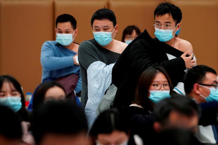 الصين تسجل 13 إصابة جديدة بـ (كورونا)