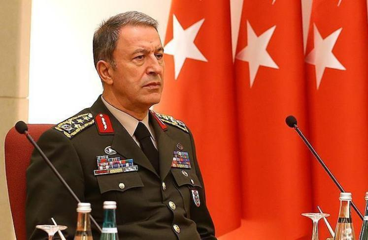 وزير الدفاع التركي خلوصي آكار