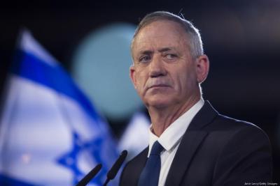 """غانتس: إسرائيل من الداخل ضعيفة ومتضاربة وجريحة و""""لم نتعلم درسا من اغتيال رابين"""""""