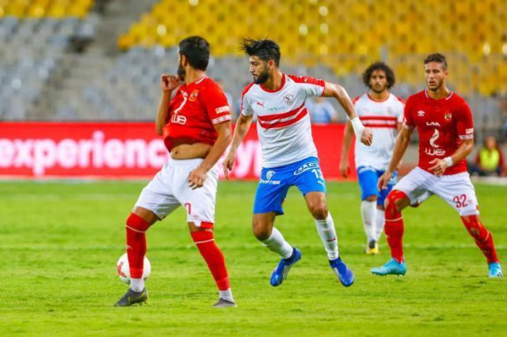 موعد مباراة الأهلي ضد الزمالك في الدوري المصري