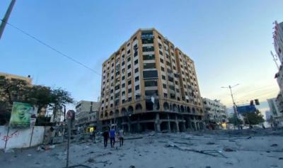 مصر تتعهد بإعادة بناء الأبراج في غزة وتخطط لإنشاء كباري وجسور فيها