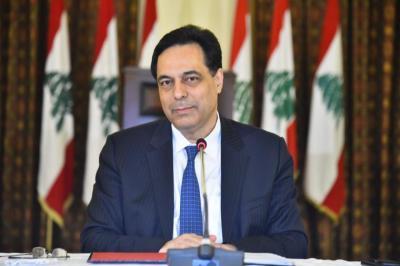 دياب يدعو الأشقاء للوقوف بجانب الشعب اللبناني ويقول إن الوضع خطير للغاية
