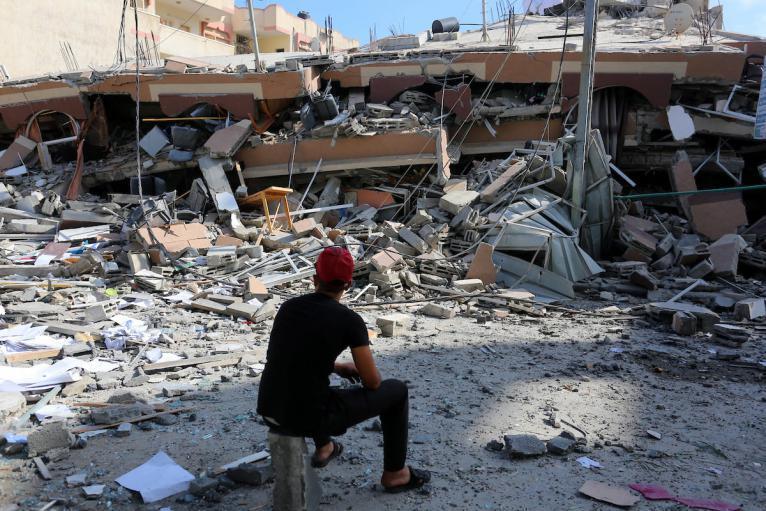 الأشغال بغزة: وضعنا خطة لعمل المعدات على إزالة الركام لتكون جاهزة للإعمار