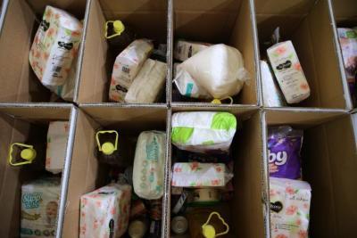 مرفق رابط التسجيل.. جمعية أرضي للتنمية تختتم توزيع 5000 طرد غذائي