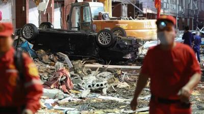 انفجار غاز في الصين يودي بحياة العشرات وإصابة المئات