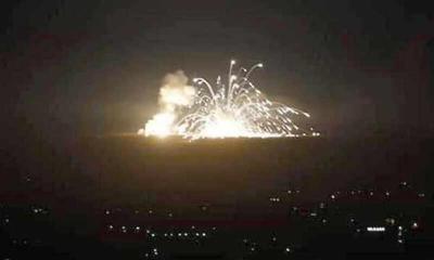 قتلى وجرحى في سوريا بغارات إسرائيلية على حمص