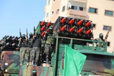 موقع عبري: حماس لن تتردد في الانتقال إلى إطلاق الصواريخ في هذه الحالة